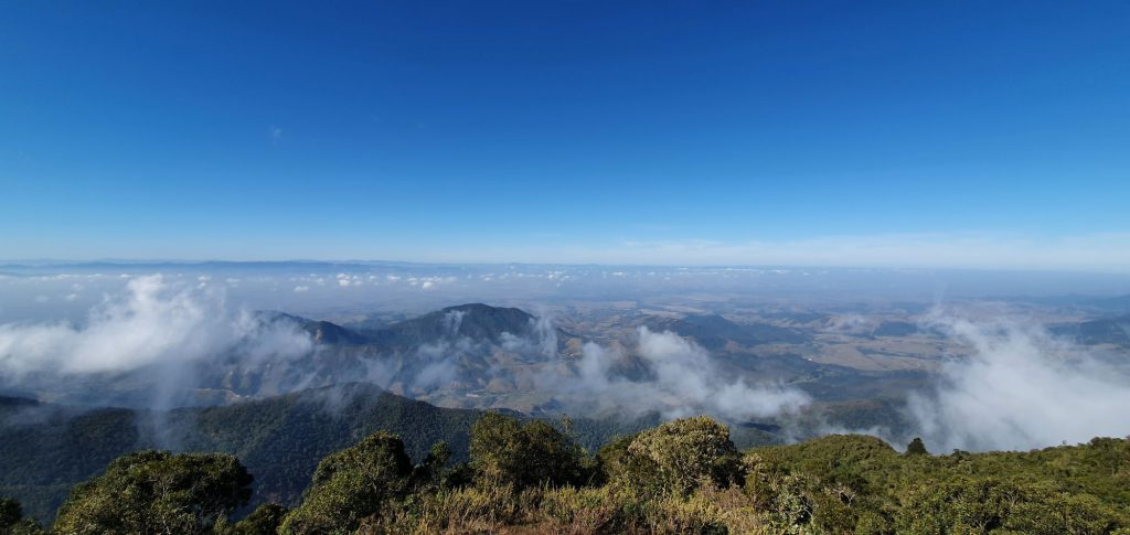 Pico do Diamante, na Serra da Mantiqueira